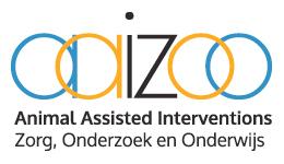 Begunstiger van AAIZOO; Animal Assisted Interventions in Zorg, Onderzoek en Onderwijs